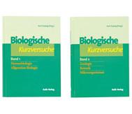 Biologie allgemein / Biologische Kurzversuche in 2 Bänden