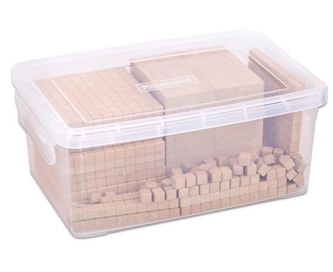 RE-WOOD Zehnersystemsatz 121 Teile  in Stapelbox