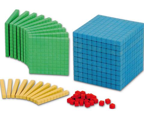RE-WOOD Zehnersystemsatz 121 bunte Teile-1
