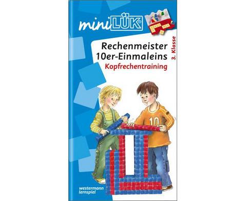 miniLUEK-Heft Rechenmeister 10er-Einmaleins-1