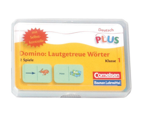 Lese-Dominos lauttreue Woerter-1
