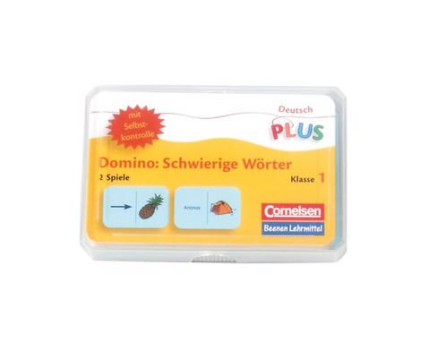 Lese-Dominos schwierige Woerter-1