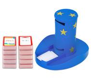 Magischer Zylinder mit 10 Karten-Sets zum Rechnen im 1. Schuljahr