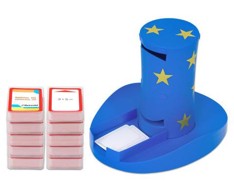 Magischer Zylinder mit 10 Karten-Sets zum Rechnen im 2 Schuljahr-1
