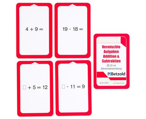 Addition-Subtraktion - Kartensatz fuer den Magischen Zylinder-6