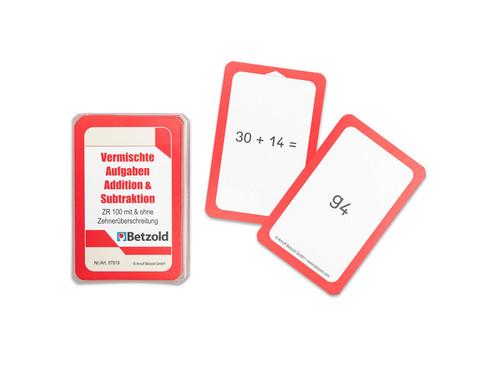 Addition-Subtraktion - Kartensatz fuer den Magischen Zylinder-1