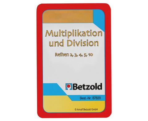 Multiplikation-Division - Kartensatz fuer den Magischen Zylinder-1