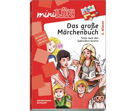 miniLUEK  Das grosse Maerchenbuch ab 2 Klasse-1