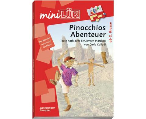 miniLUEK-Heft Pinocchios Abenteuer-1