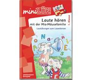 miniLÜK-Heft: Laute hören mit der Mia-Mäusefamilie 1. Klasse