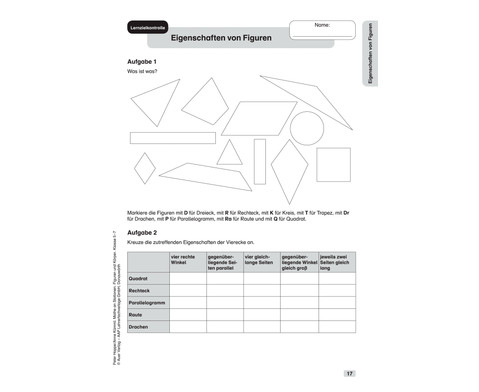 Mathe an Stationen - Spezial Figuren und Koerper Klasse 5 - 7-5