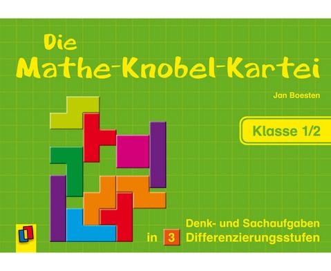Die Mathe-Knobelkartei - Klasse 1-2-1