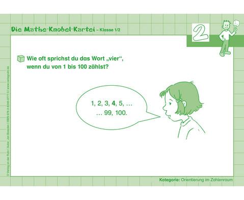 Die Mathe-Knobelkartei - Klasse 1-2-3