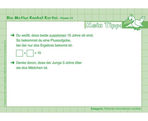Die Mathe-Knobelkartei - Klasse 1-2-4