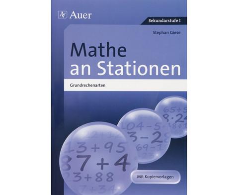 Mathe an Stationen - Spezial Grundrechenarten - Klasse 5-6-1