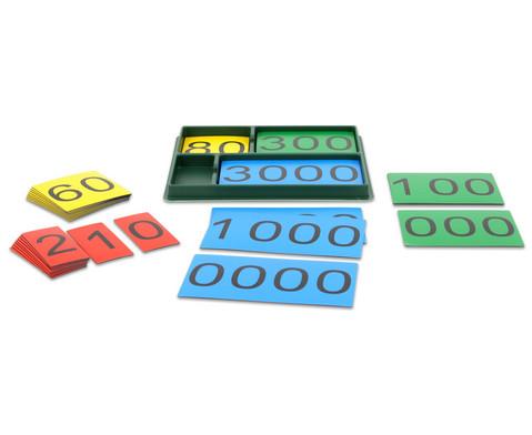 Stellenwertkarten im Sortierkasten-1