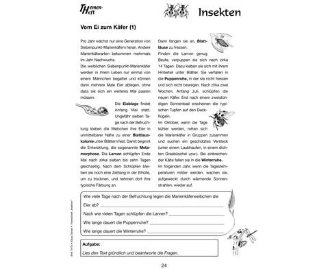 Themenheft Insekten - 3-5 Klasse-2