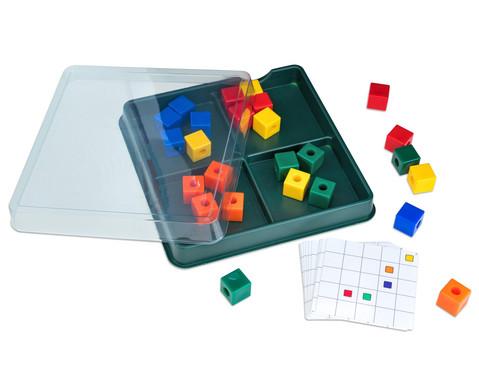 Lernbox Jede Farbe hat seinen Platz Wuerfel