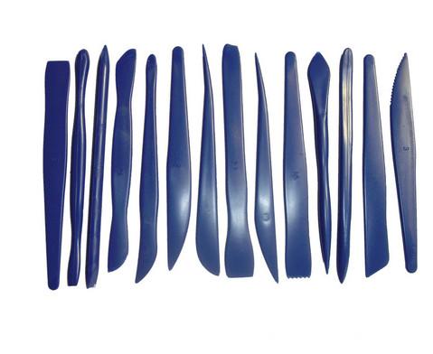 Modellierwerkzeuge-Set mit 14 Stueck