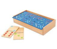 Holz-Domino im Großformat