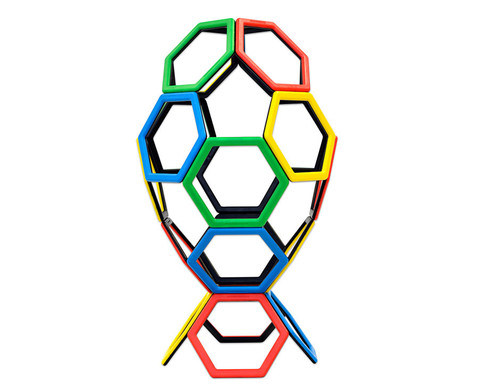 Magnetic Polydron - Sechsecke