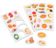 50 Lebensmittelbilder, magnetisch