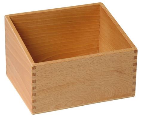 Betzold Holzbox fuer 30 Fuehl- und Tastplatten