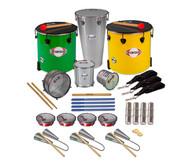 Samba-Set mit 18 Instrumenten