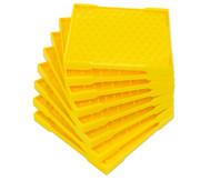 Set mit 8 Geometriebrettern, 11 x 11 Zapfen
