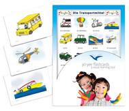 Bildkarten Transportmittel
