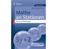 Mathe an Stationen Spezial Terme und Gleichungen