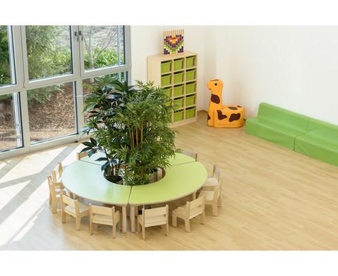 segmenttisch h he 40 cm. Black Bedroom Furniture Sets. Home Design Ideas