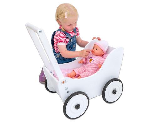 Puppenwagen inkl Bettwaesche-8