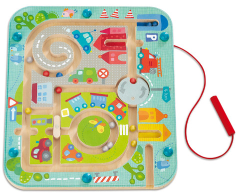 Magnetspiel Stadtlabyrinth