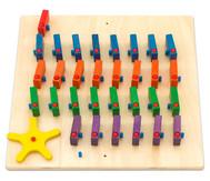 Domino Wandspiel 4-reihig