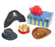 Rollenspiel-Hüte-Set 1, blau
