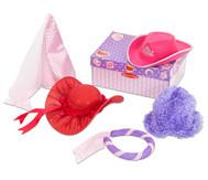 Rollenspiel-Hüte-Set 2, pink