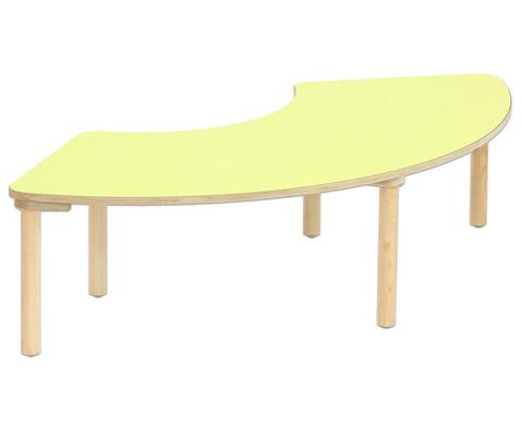 Segmenttisch Hoehe 58 cm