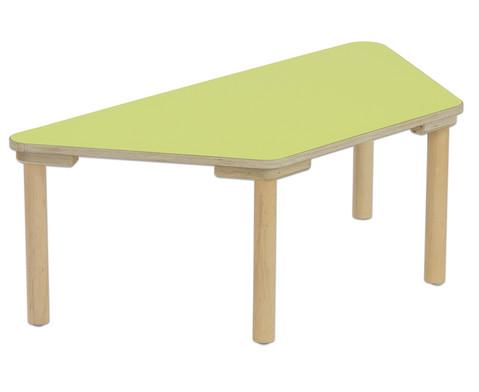 Trapez Tisch Hoehe 25 cm