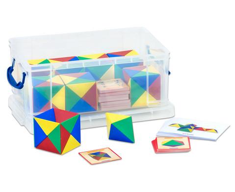 Geometriebausatz mit Box