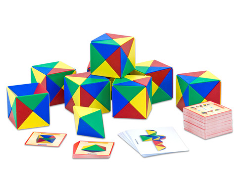 Geometriebausatz mit Box-2