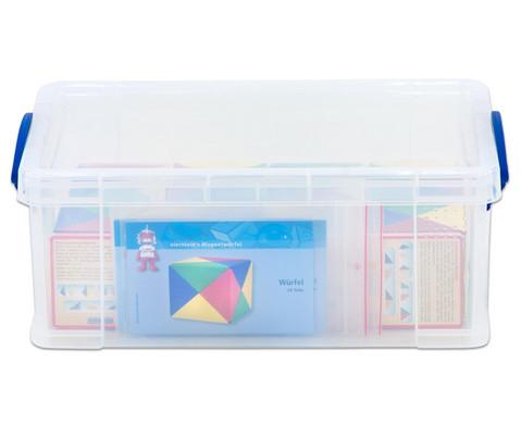 Geometriebausatz mit Box-3
