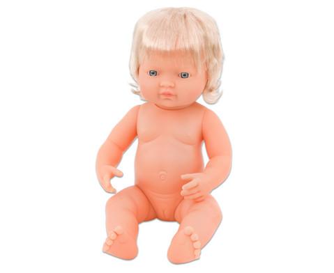 Baby-Puppe europaeisches Maedchen