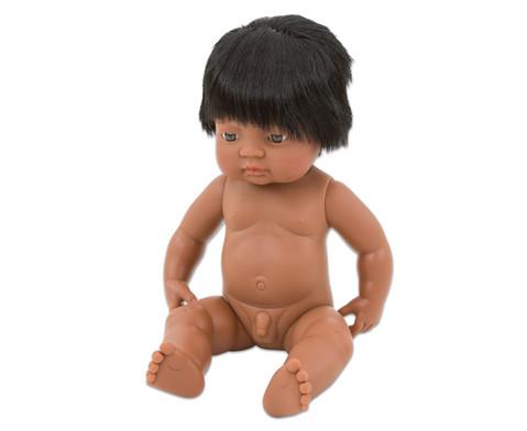Baby-Puppe suedamerikanischer Junge