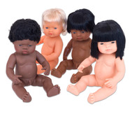 Baby-Puppen-Set, 4tlg.
