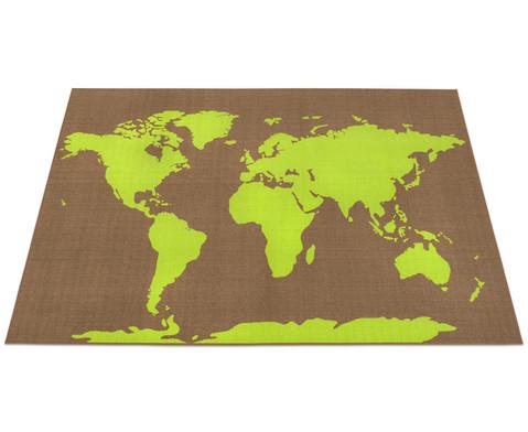 Spielteppich World