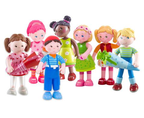 HABA Little-Friends Biegepuppen 7-tlg