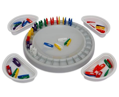 Klammerspiel Domino
