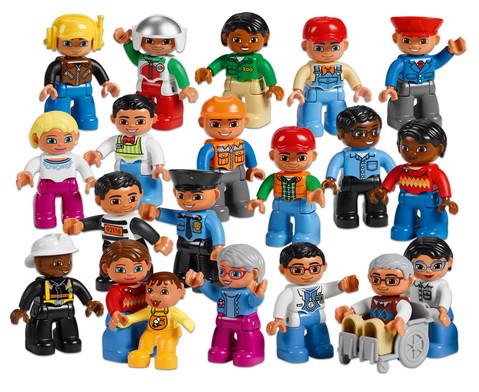 LEGO DUPLO Set Menschen aus der Nachbarschaft