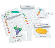 Flash Cards - Obst/Gemüse